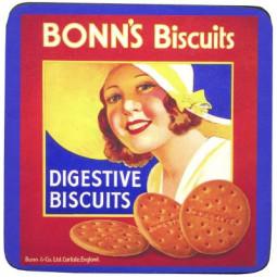 Glasunderlägg Bonn's Biscuits