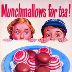 Glasunderlägg Munchmellows