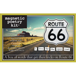 Magnetic Poetry Route 66