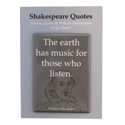 MAGNET SHAKESPEARE THE EARTH