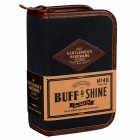 SHOE SHINE KIT DARK BLUE